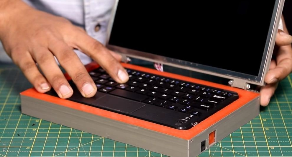 Как сделать мини ноутбук