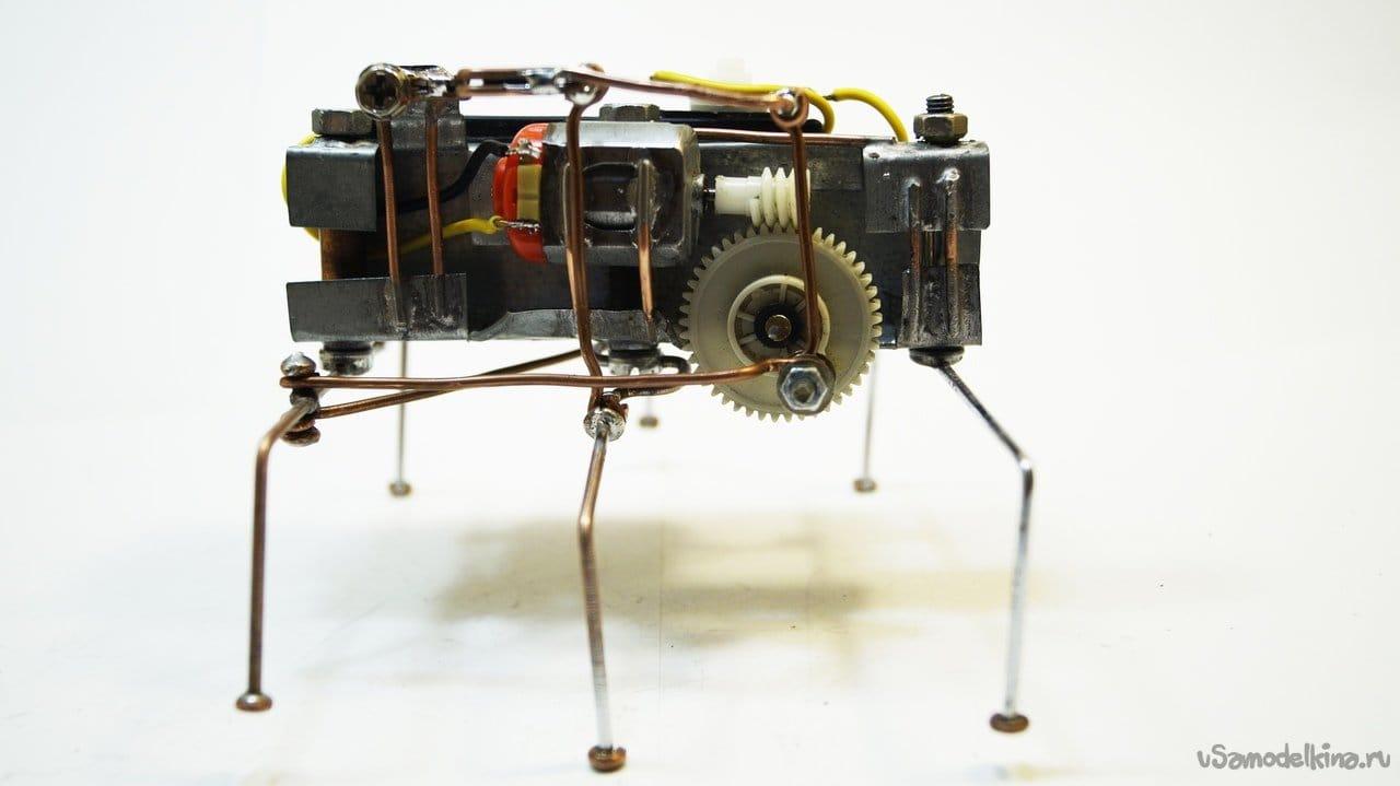 Механический таракан своими руками