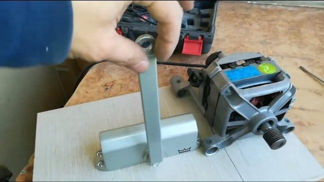 Что можно сделать из мотора стиральной машинки