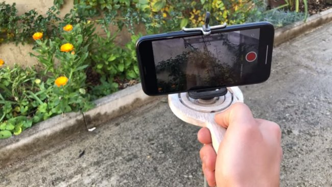 Самостабилизирующийся штатив для камеры или телефона