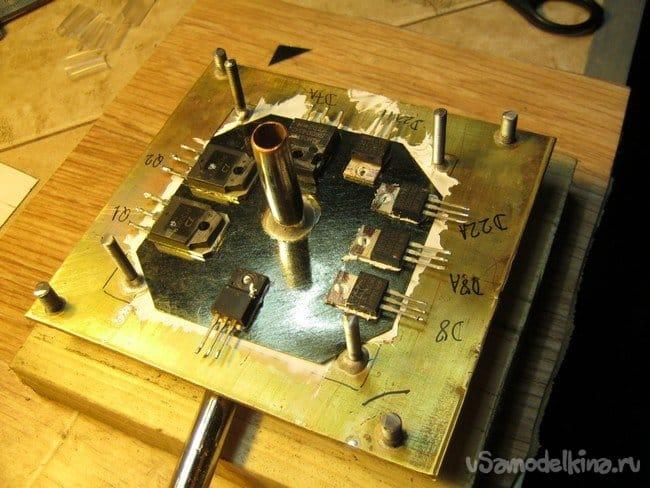 Блок питания персонального компьютера с водяным охлаждением