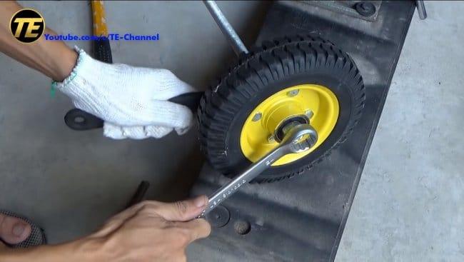 Самокат на бензиновом двигателе с нуля