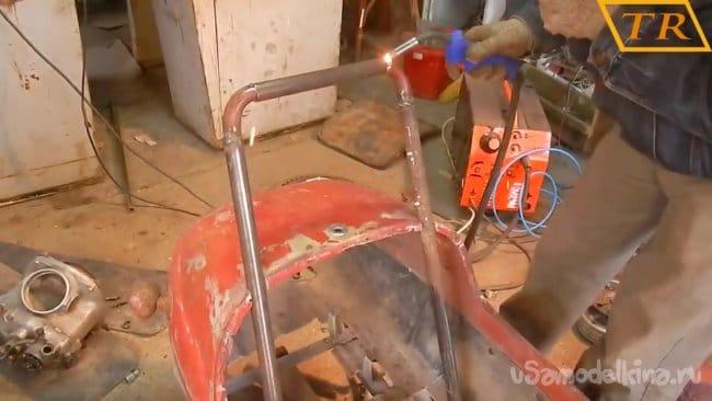Самодельный Go-Kart, или детская мечта!