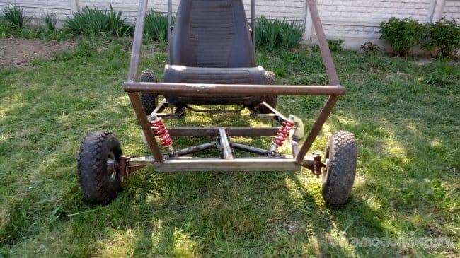 Самодельное Багги или вторая жизнь Go-Kart