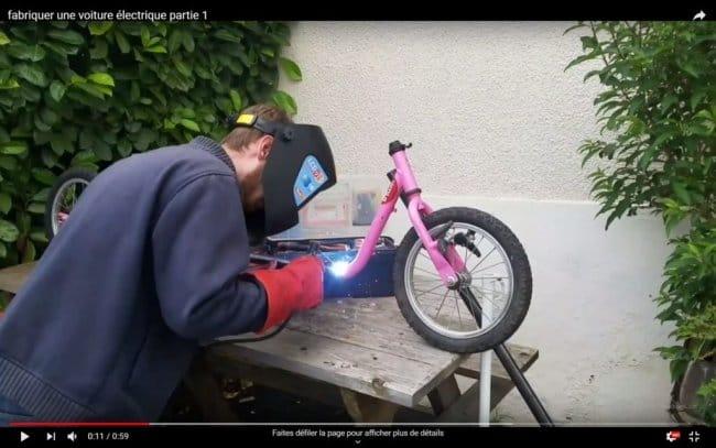 Делаем электромобиль из детских велосипедов