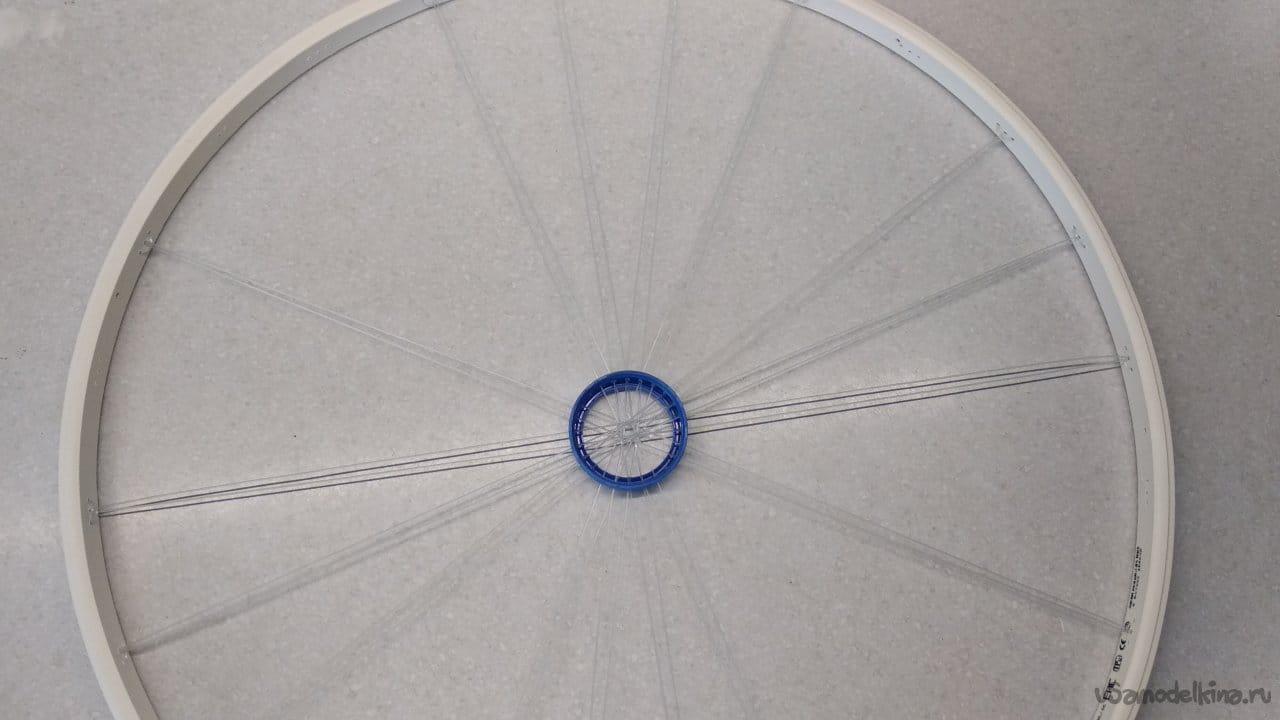 Кольцо и горловина для кастинговой сети