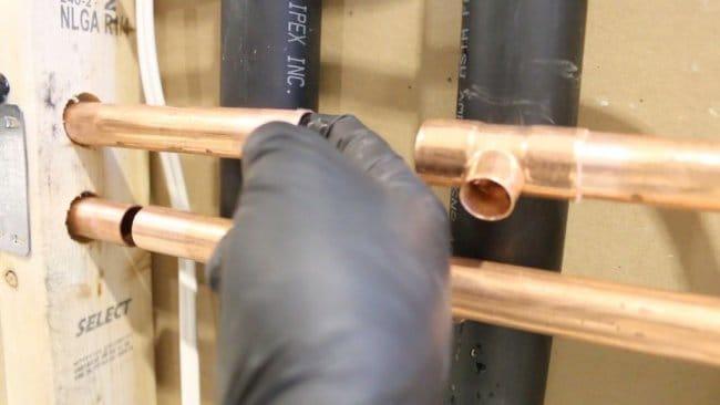 Технология пайки медных водопроводных труб