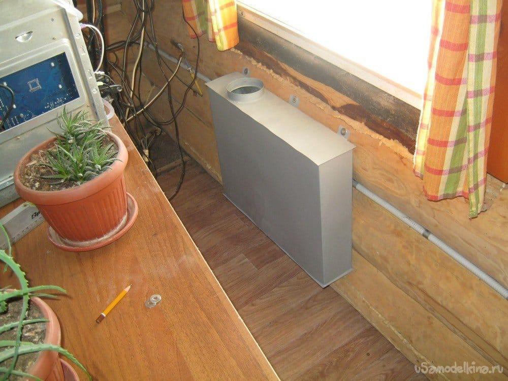 Домашний компьютер - доработка корпуса, простое и не дорогое водяное охлаждение
