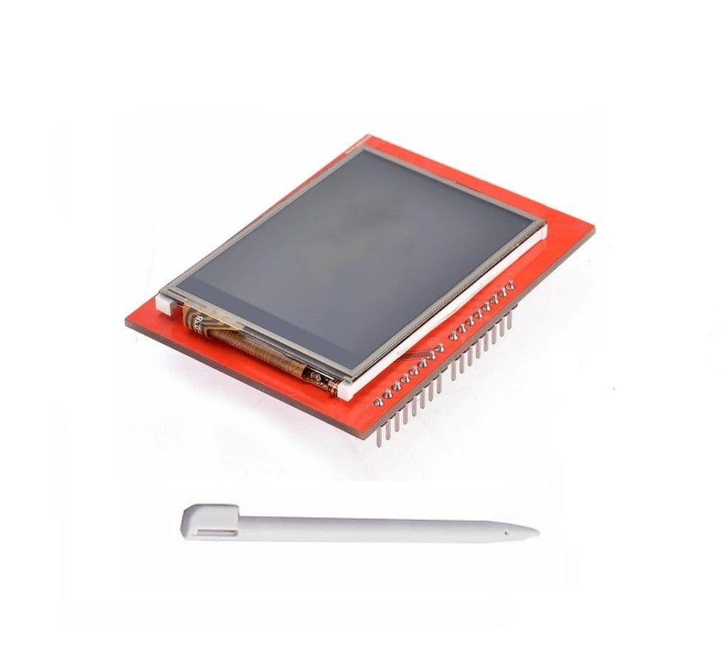 Часы на Arduino с TFT-дисплеем и RTC