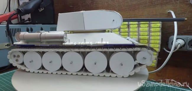 Радиоуправляемая модель танка Т-34