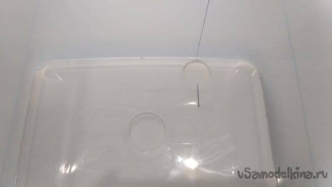 Бытовой жироуловитель из ведра со встроенным картриджем