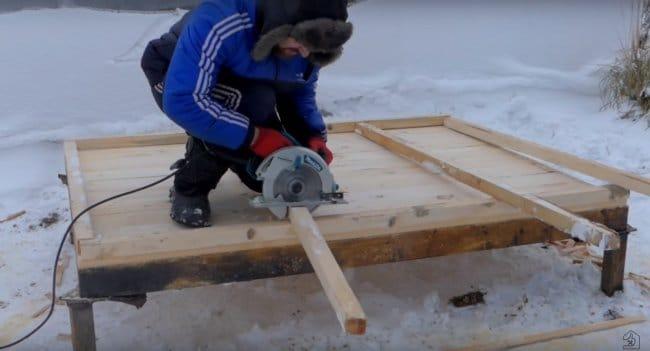 Как построить курятник для несушек своими руками за 4 дня!!!