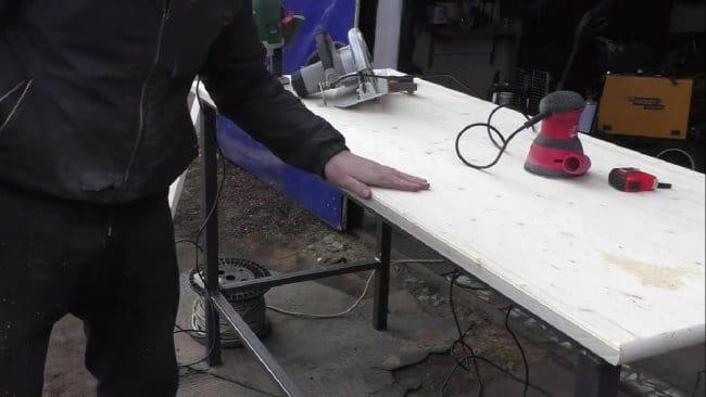 Стол из профильной трубы