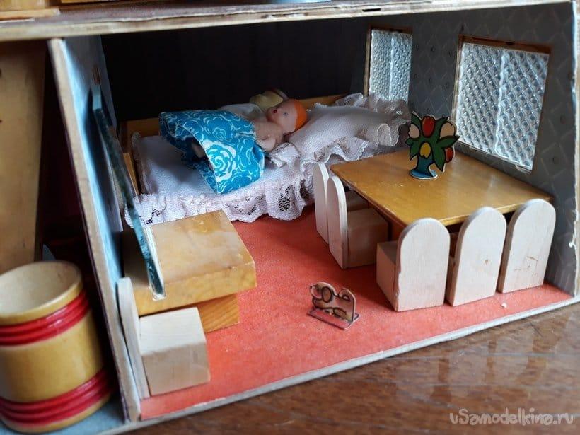Дом для кукол. Самоделки из прошлого
