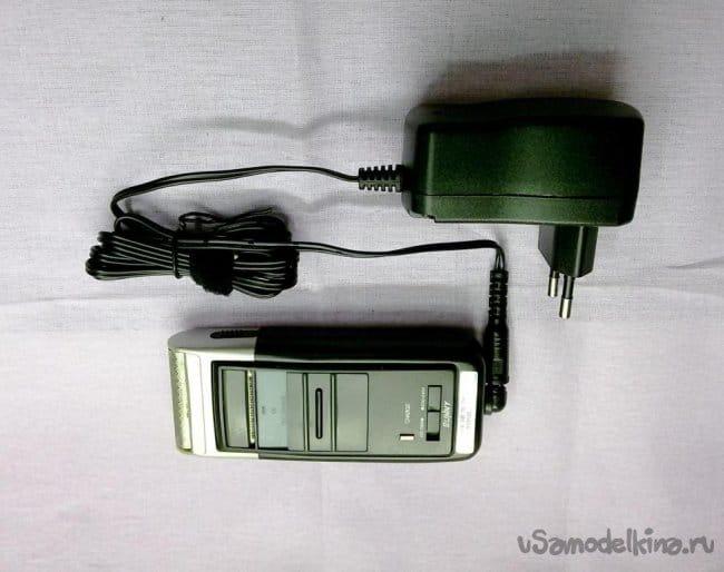 Перевод аккумуляторной электробритвы на сетевое питание