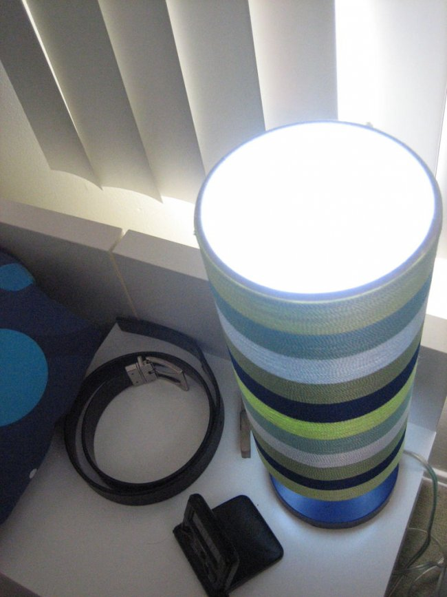 Самодельная лампа из светодиодов