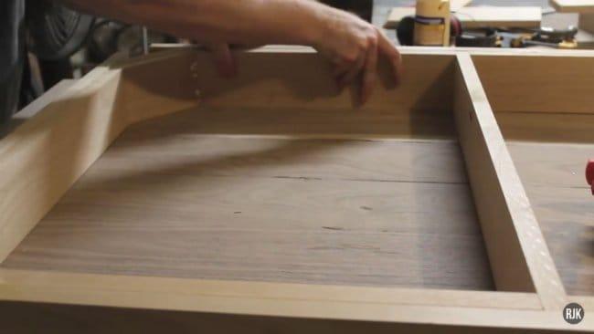 Обеденный стол - орех и ольха