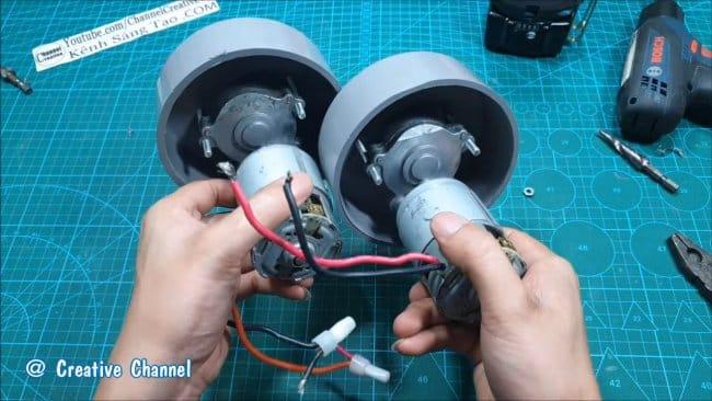 Водный скутер на электротяге