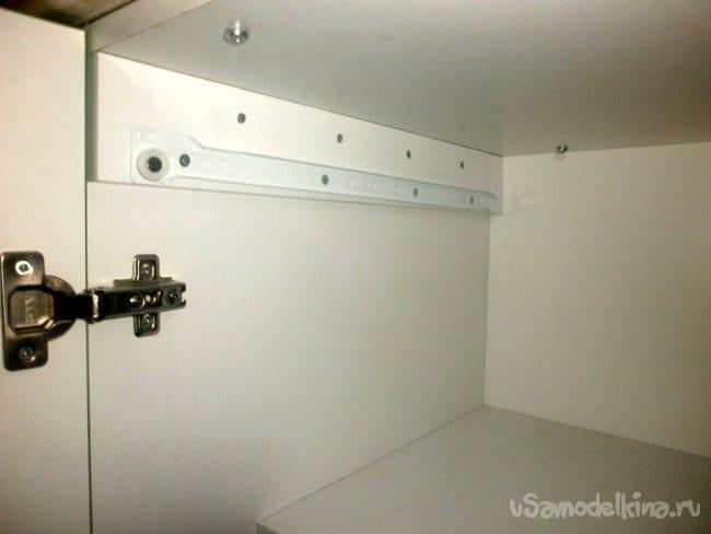 Потайная полочка в уже готовый шкаф