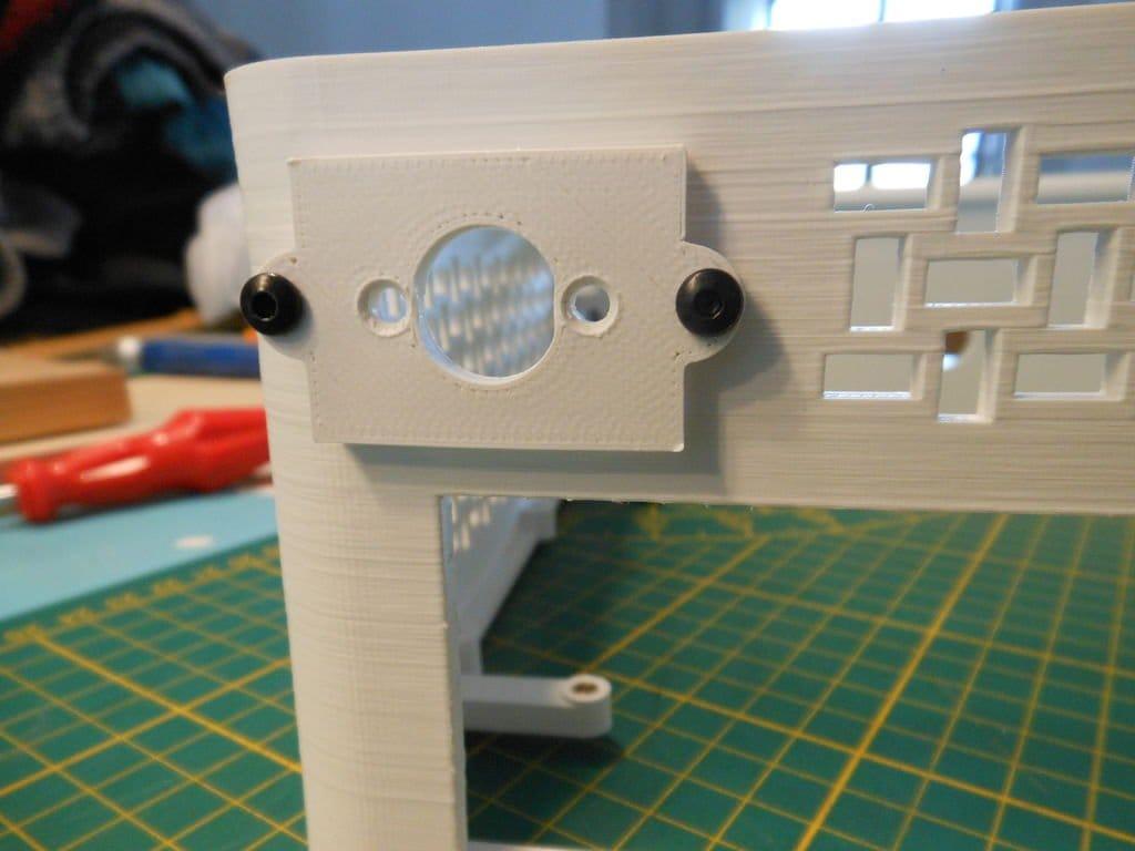Компьютер в 3D-печатном корпусе