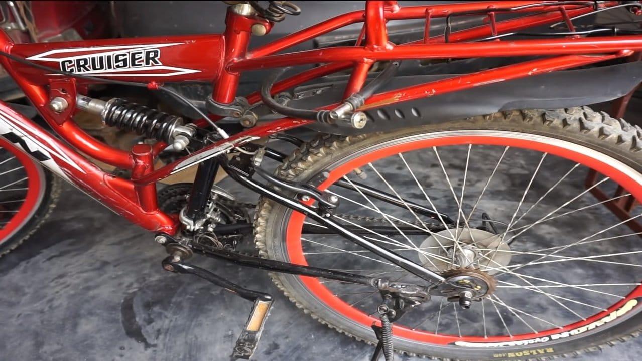 Установка на велосипед двигателя 500 Ватт