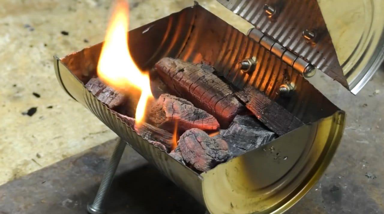 Миниатюрное барбекю для детской кухни