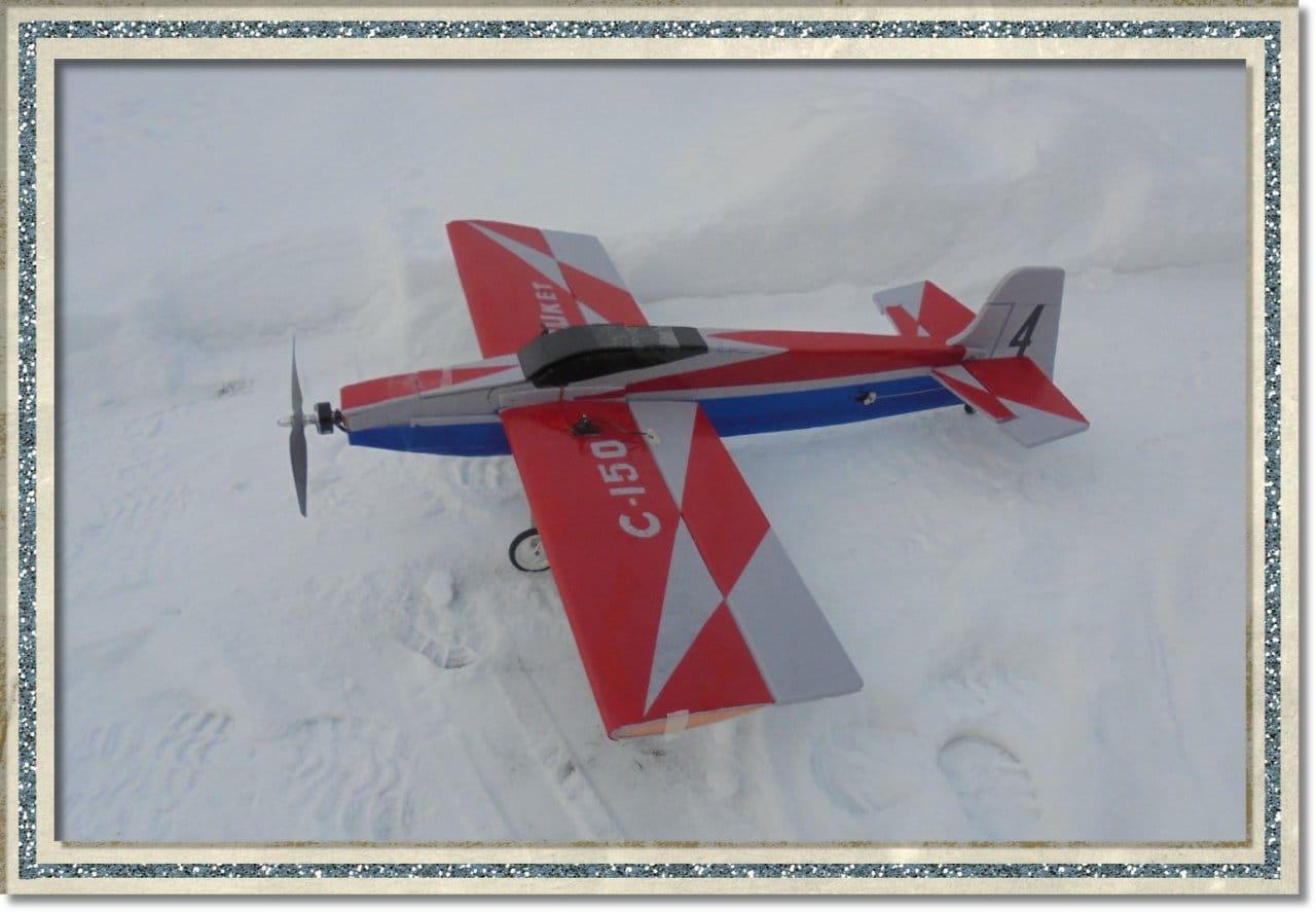 Авиамодель «Рыжий»!