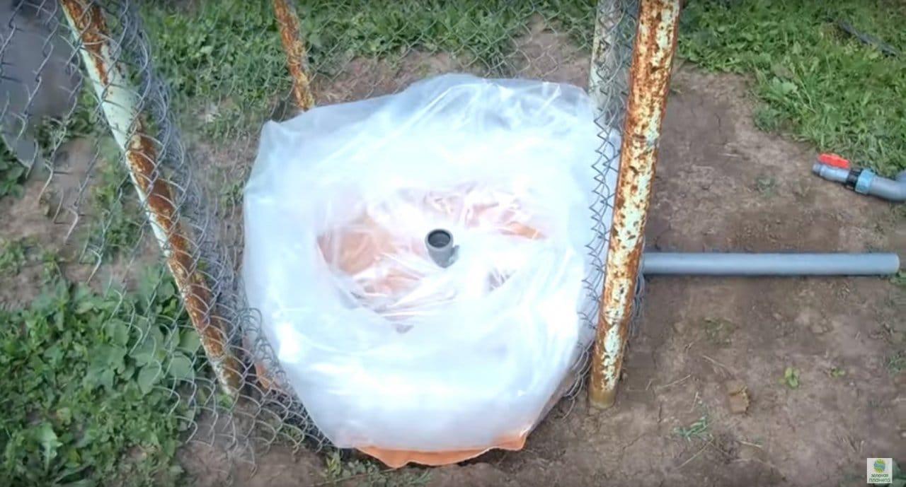 Не дорогой бак с краном для полива на 1000 литров своими руками