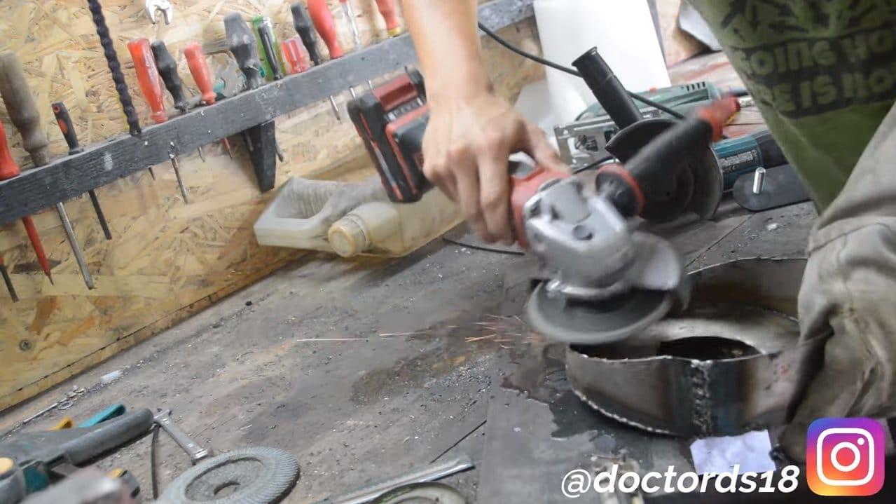 Пропольник-культиватор из мотокосы