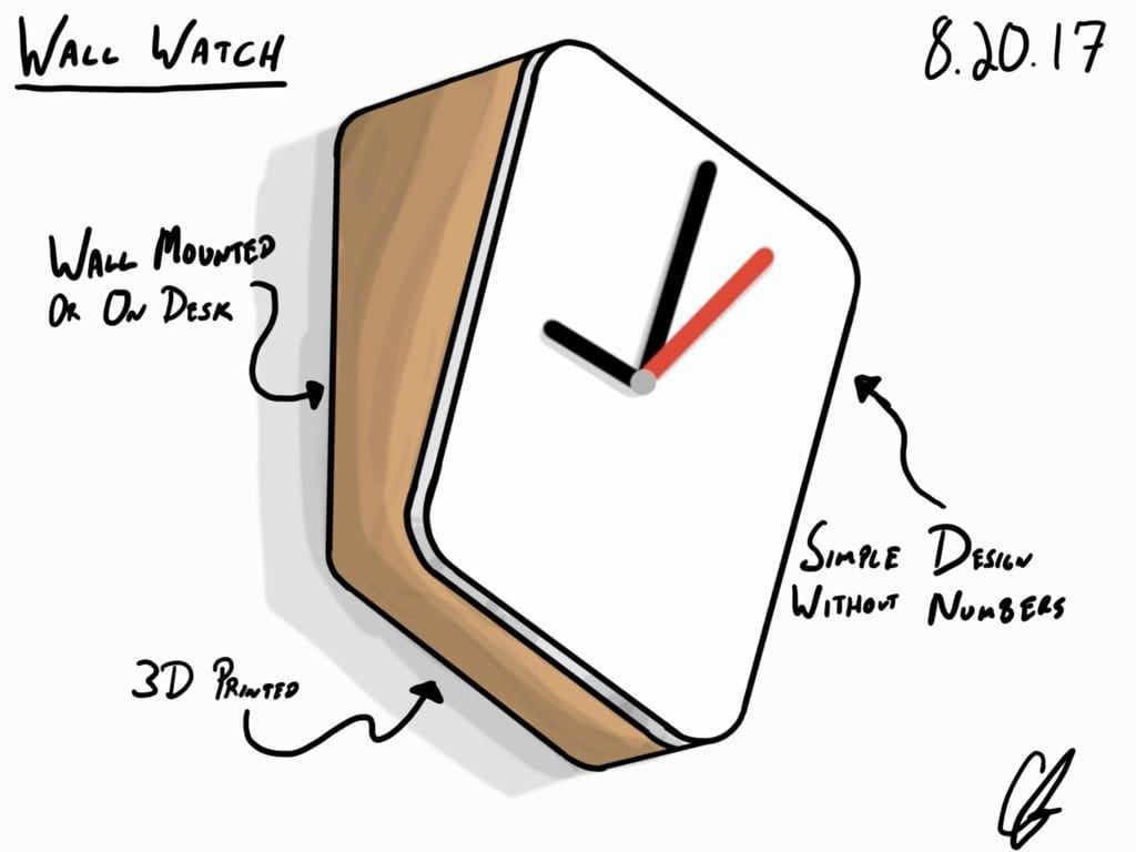 Даже слишком минималистические часы