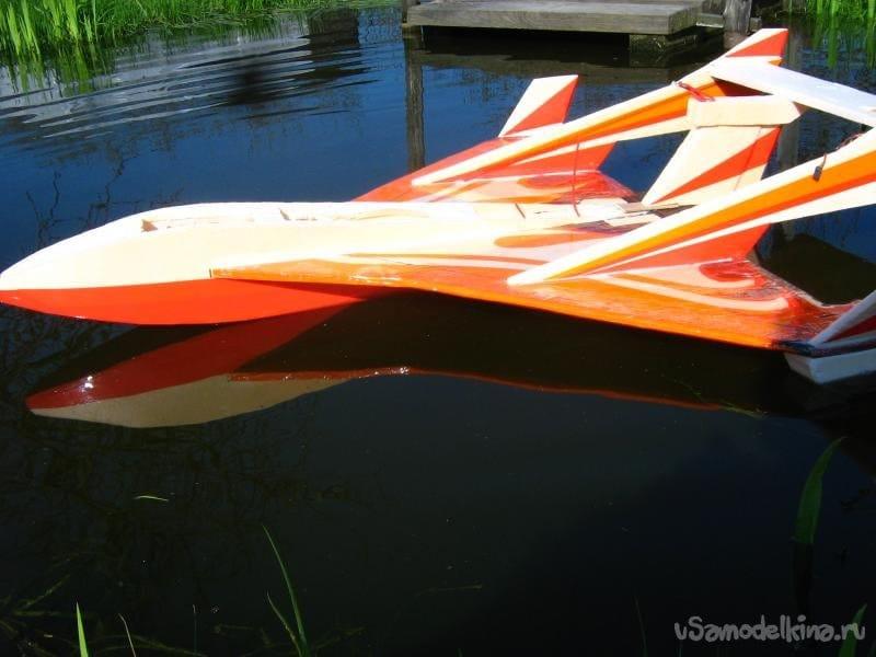 Авиамодель «Поларис» или «Розовый фламинго»