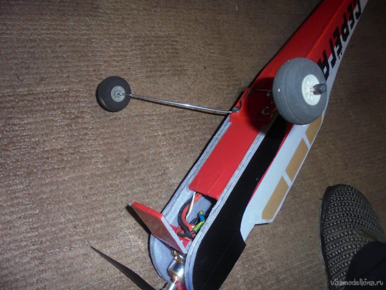 Авиамодель на радиоуправлении «Серёга»