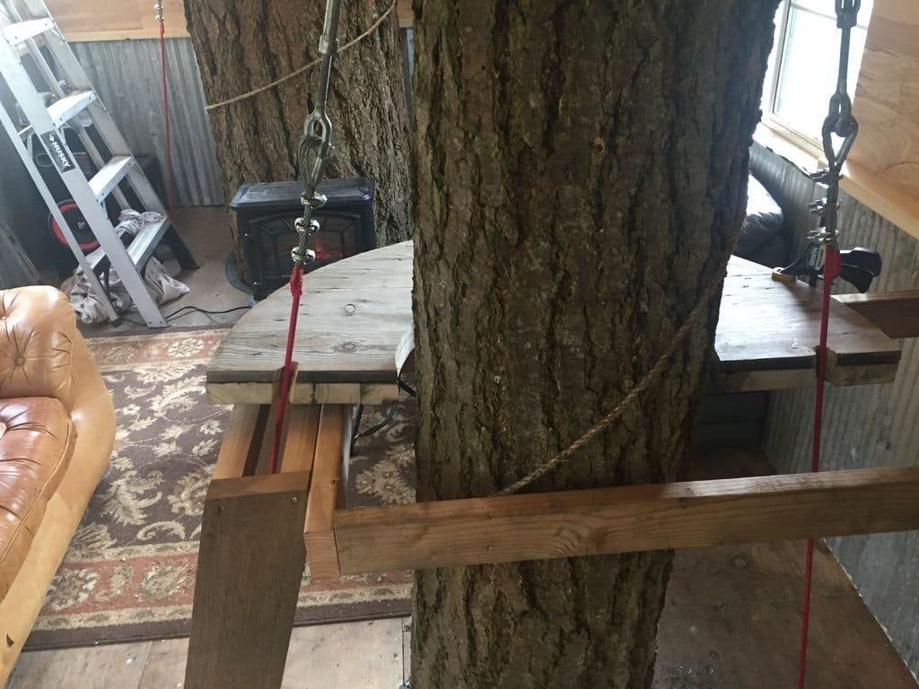 Как построить дом на дереве