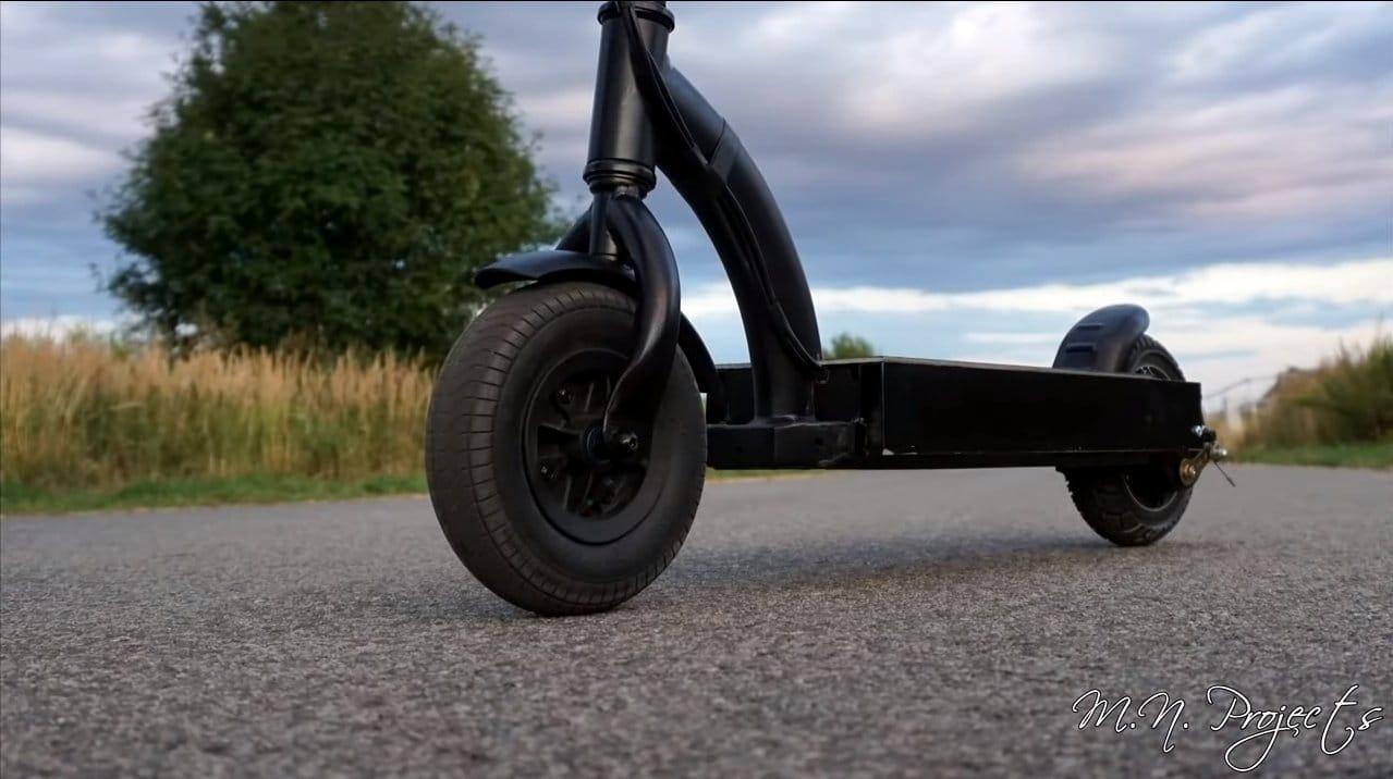Электрический самокат с мотор-колесом на 48В