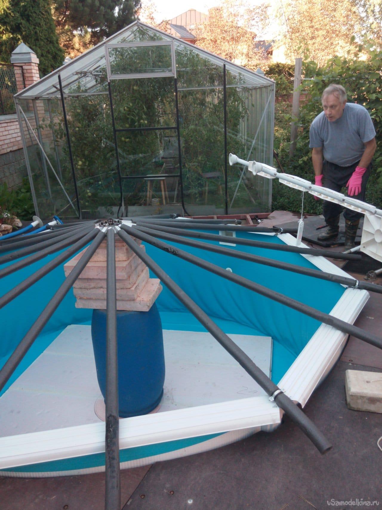 Укрытие для бассейна