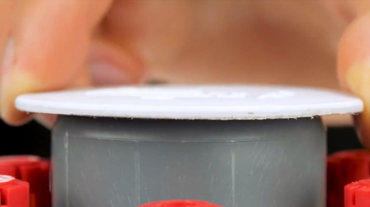 Водяная «мина» на основе баллончика CO2