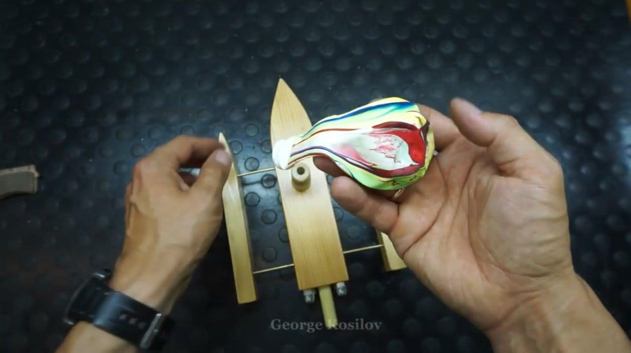 Тримаран на воздушно-реактивной тяге своими руками