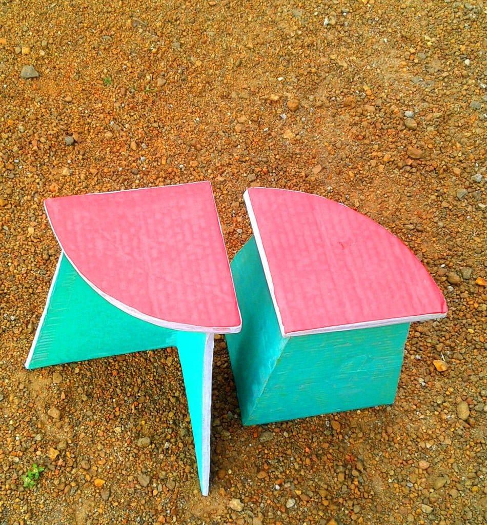 Делаем детскую мебель из вторсырья