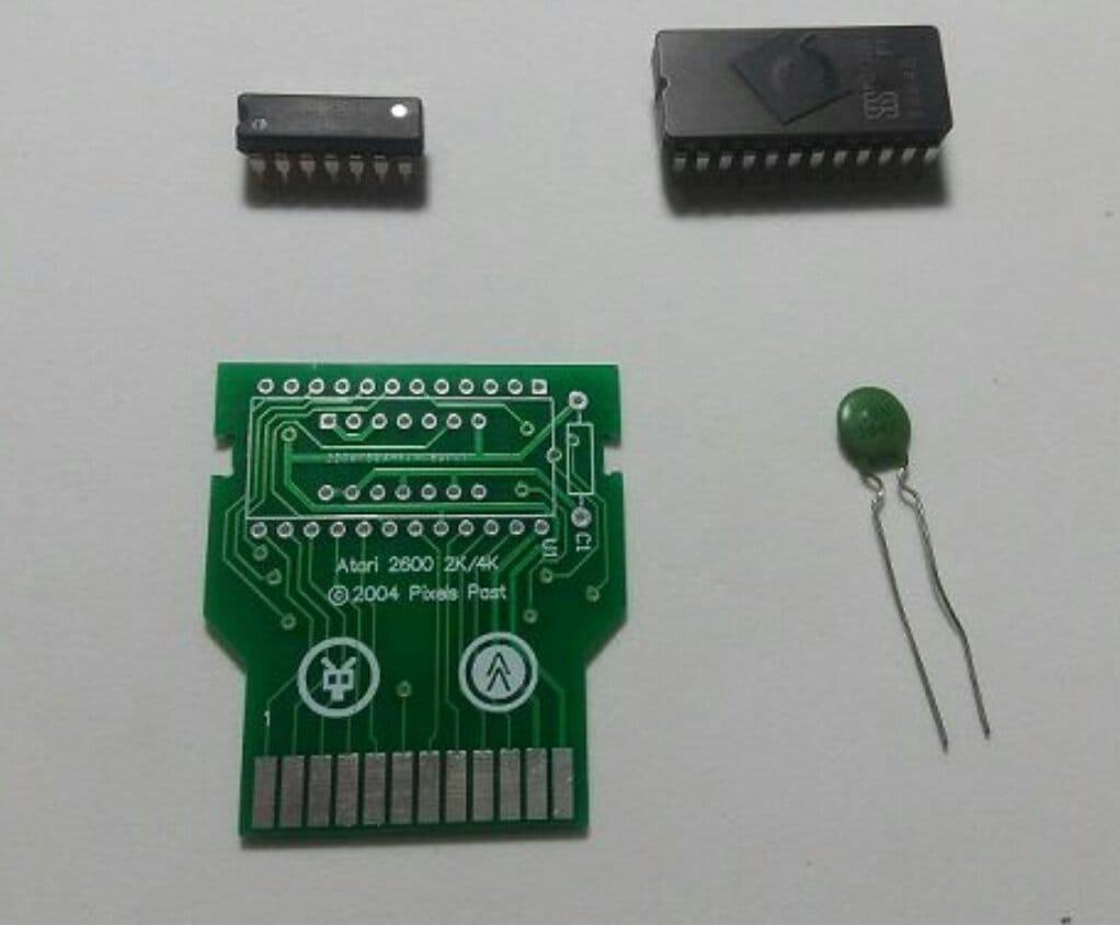 Самодельный картридж для Atari 2600