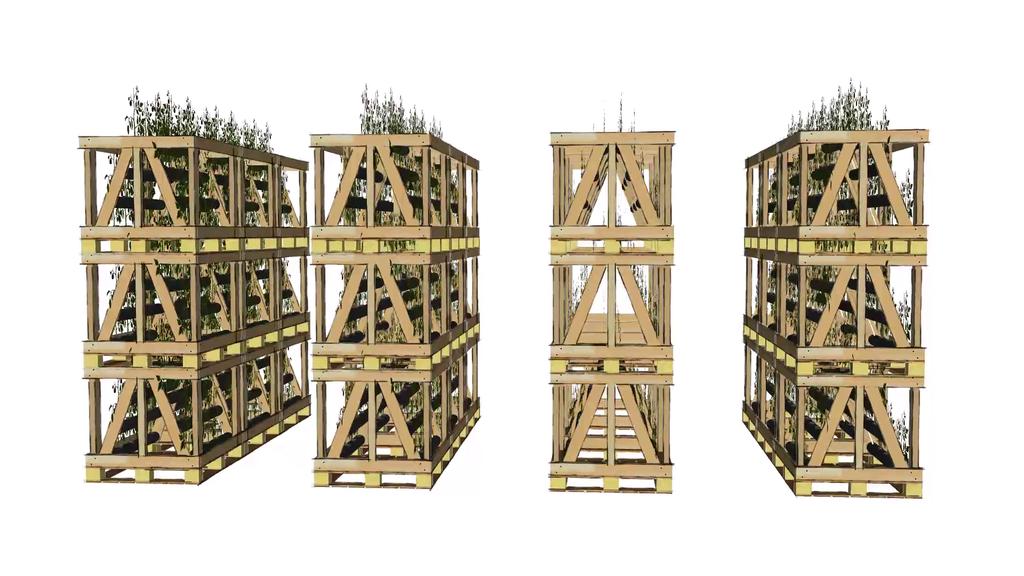 Cube Farm: модульная растениеводческая платформа