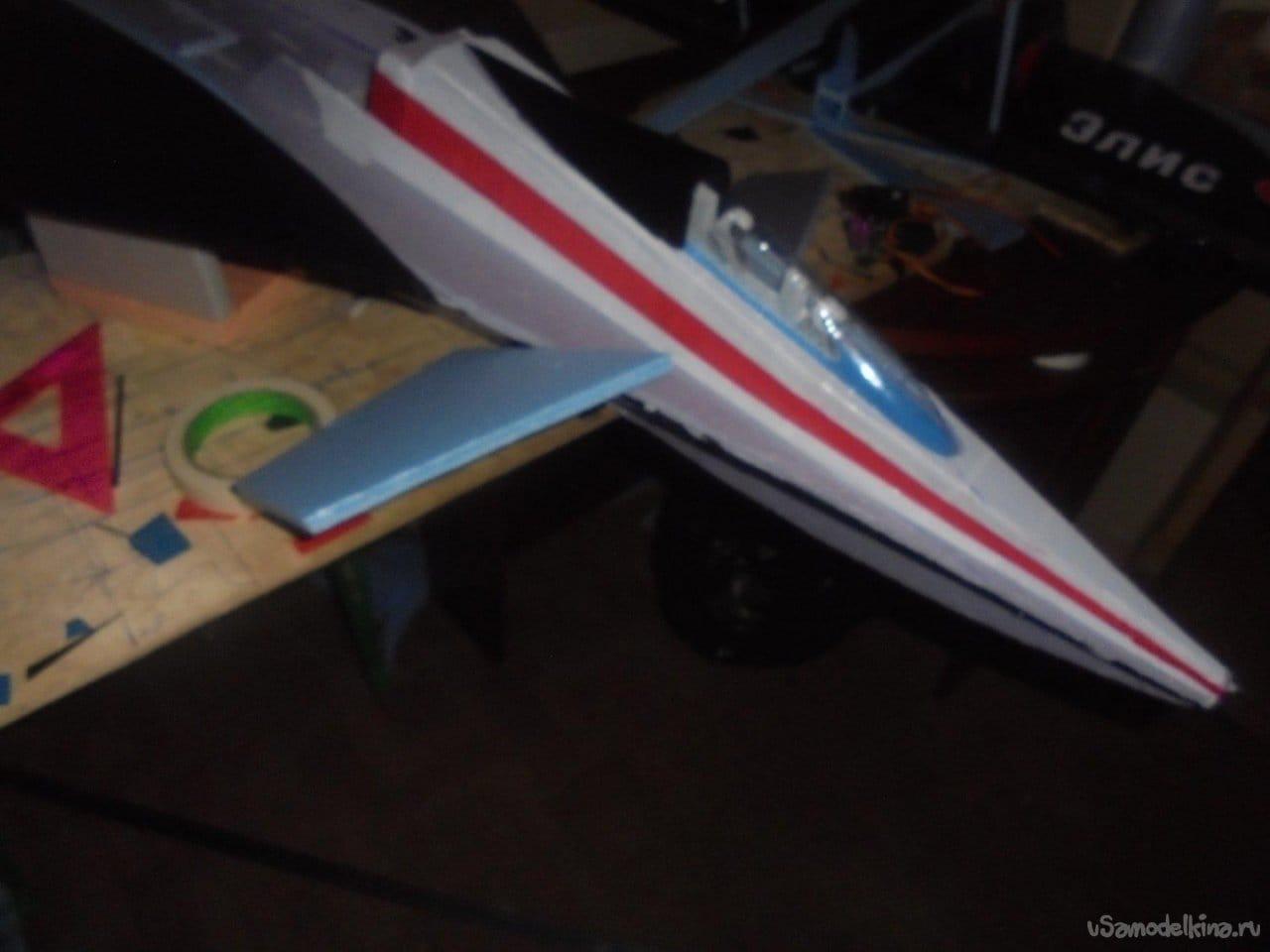 Авиамодель истребителя 7-го поколения