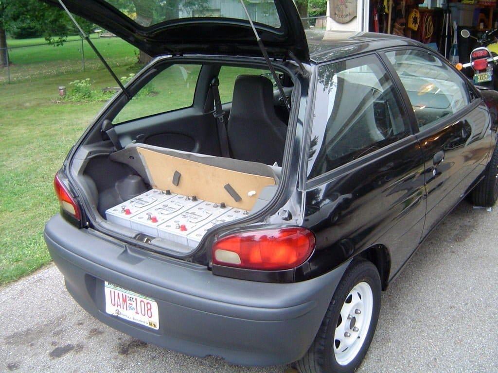 Делаем из бензинового авто - электромобиль