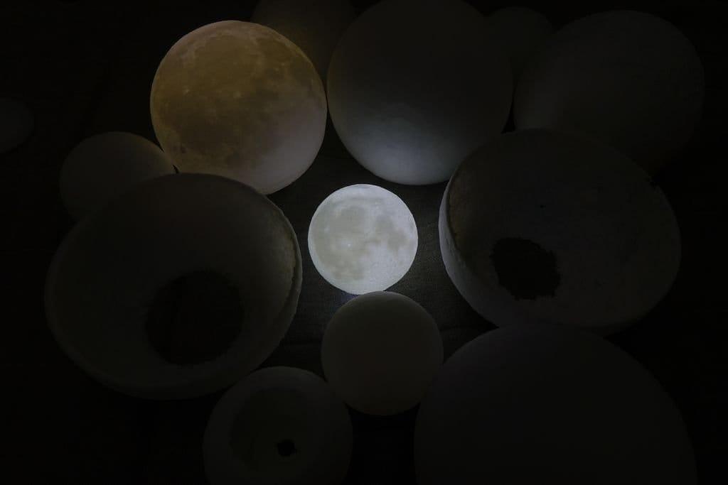 3D-печатная модель Луны