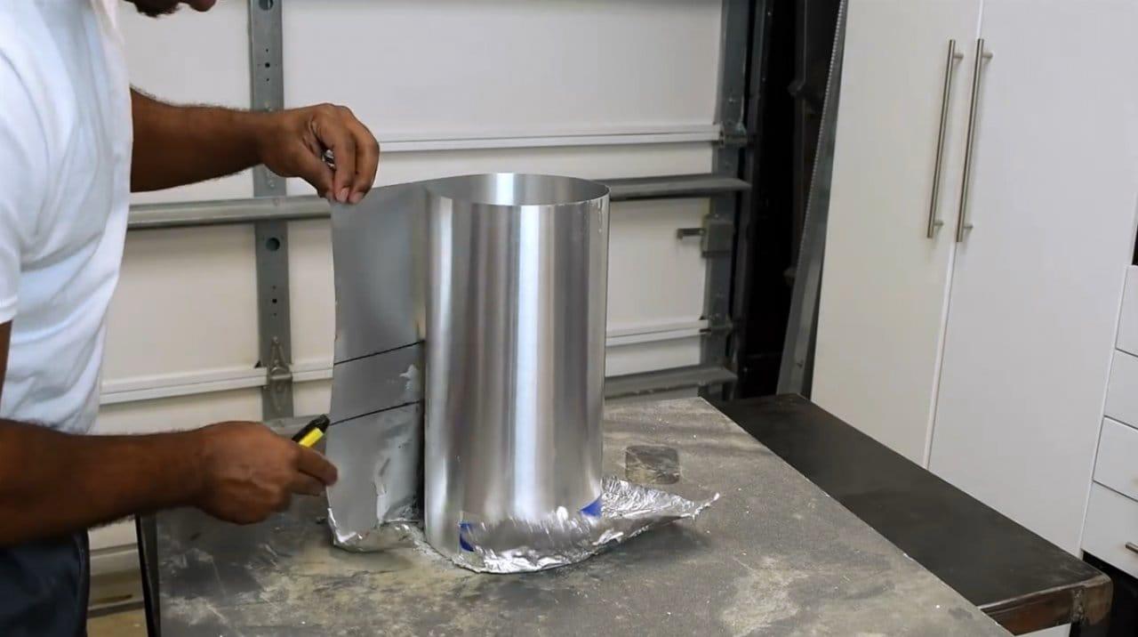 Светодиодный светильник в форме цилиндра
