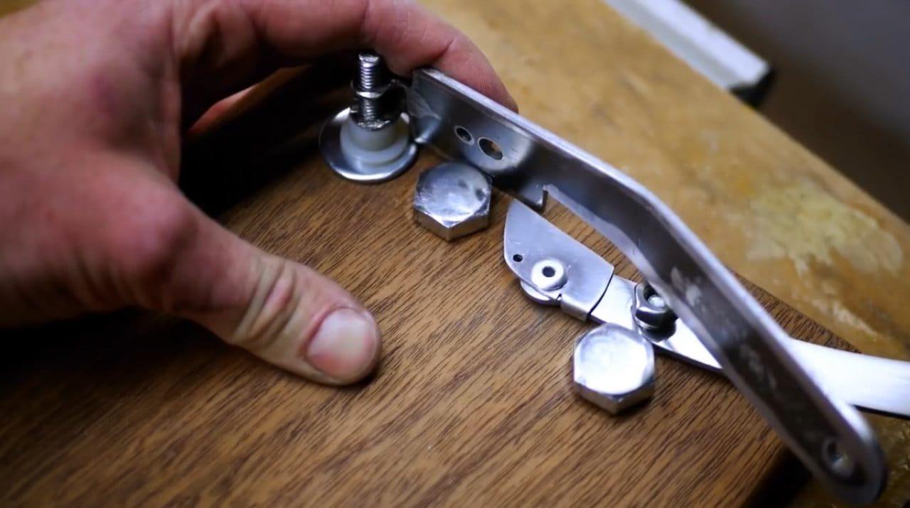 Механический дверной звонок в стиле старого боксерского гонга