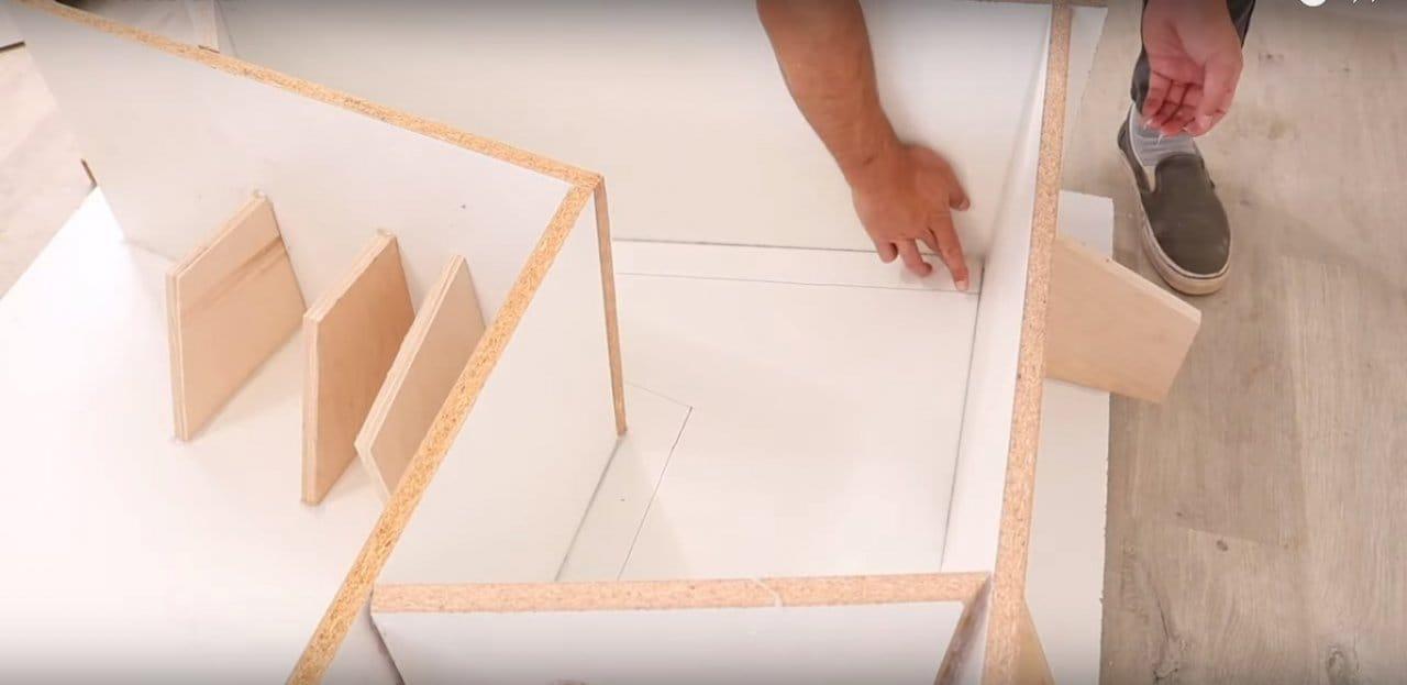 Как сделать стул из бетона