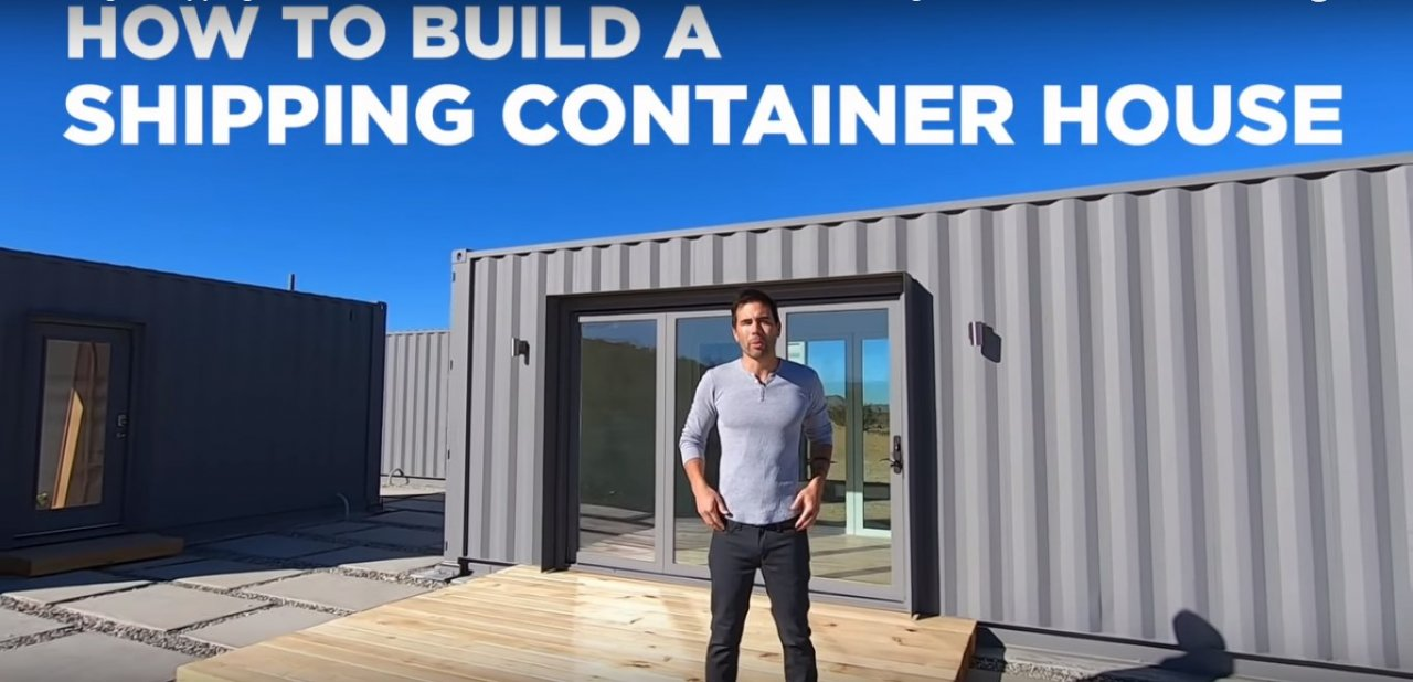 Как построить дом из контейнеров. Часть первая