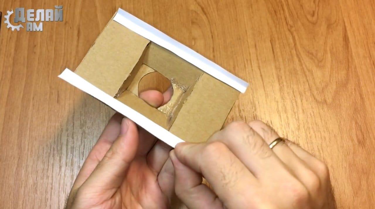 Как сделать машинку которая ездит по потолку
