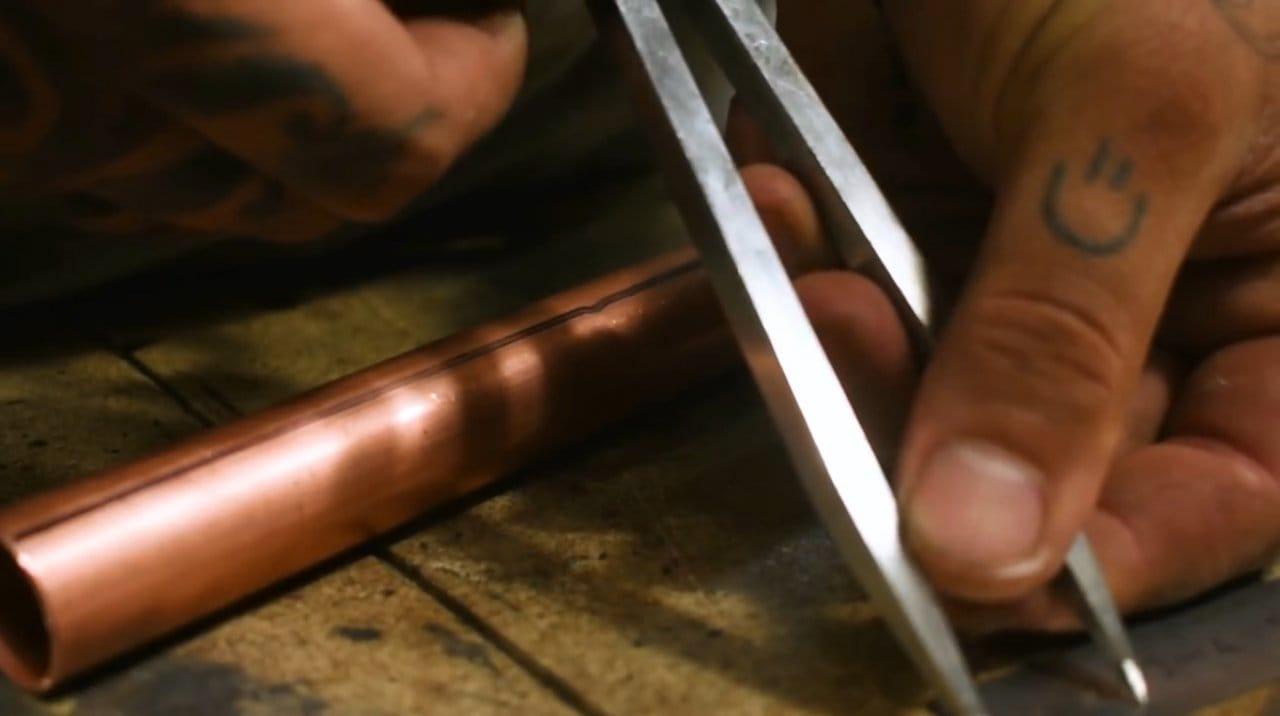 Миниатюрный складной карманный гриль своими руками