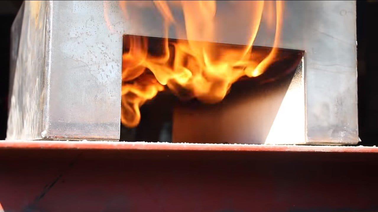 Кузнечная печь на газу своими руками